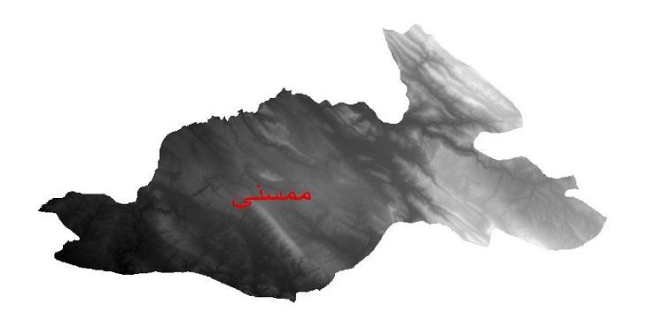 دانلود نقشه دم رقومی ارتفاعی شهرستان ممسنی