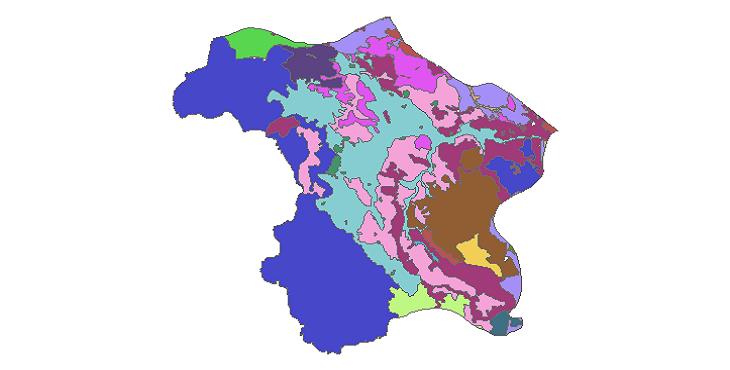 شیپ فایل کاربری اراضی شهرستان پیرانشهر
