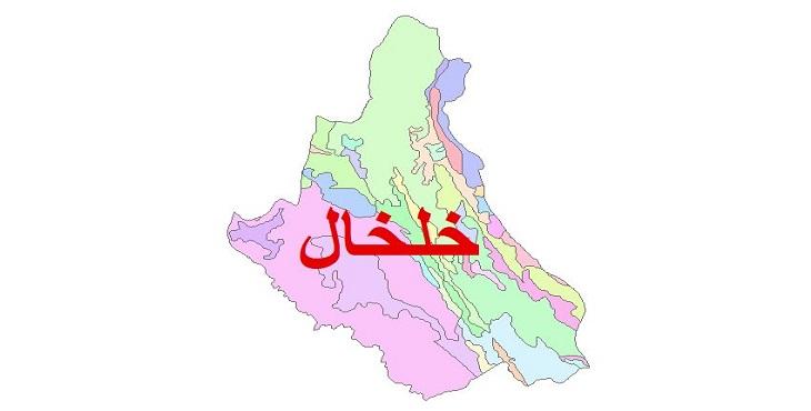 دانلود نقشه شیپ فایل زمین شناسی شهرستان خلخال