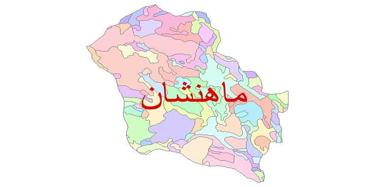 دانلود نقشه شیپ فایل زمین شناسی شهرستان ماهنشان