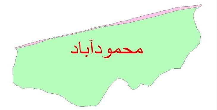 دانلود نقشه شیپ فایل زمین شناسی شهرستان محمودآباد