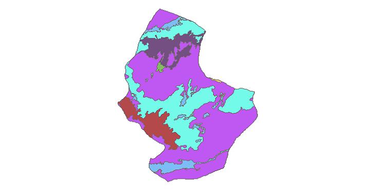 شیپ فایل کاربری اراضی شهرستان شوط