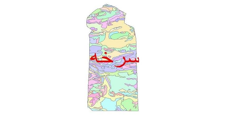 دانلود نقشه شیپ فایل زمین شناسی شهرستان سرخه