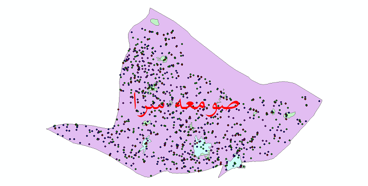 دانلود نقشه شیپ فایل آمار جمعیت نقاط شهری و نقاط روستایی شهرستان صومعه سرا از سال 1335 تا 1395