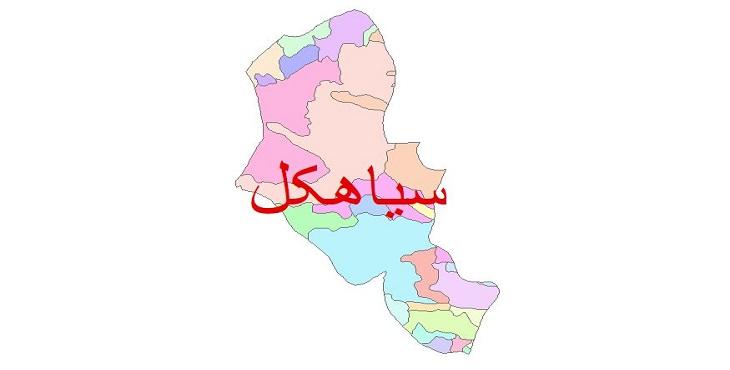 دانلود نقشه شیپ فایل زمین شناسی شهرستان سیاهکل