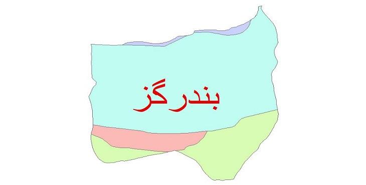 دانلود نقشه شیپ فایل زمین شناسی شهرستان بندر گز