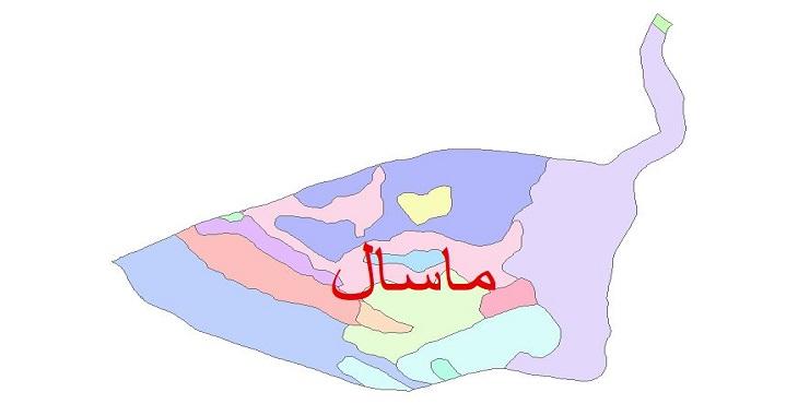 دانلود نقشه شیپ فایل زمین شناسی شهرستان ماسال