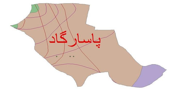 دانلود شیپ فایل اقلیمی شهرستان پاسارگاد