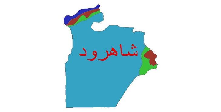 دانلود شیپ فایل اقلیمی شهرستان شاهرود