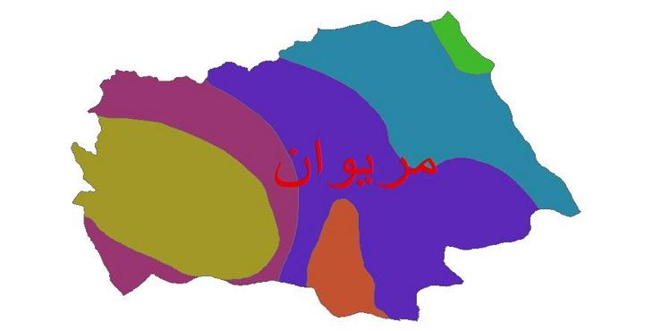 دانلود شیپ فایل اقلیمی شهرستان مریوان