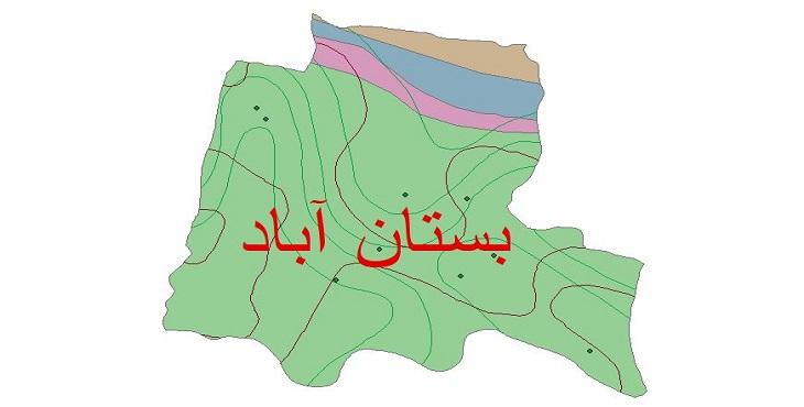 دانلود شیپ فایل اقلیمی شهرستان بستان آباد