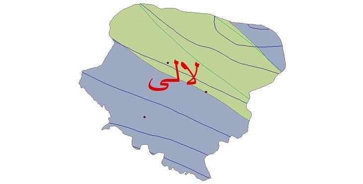 دانلود شیپ فایل اقلیمی شهرستان لالی