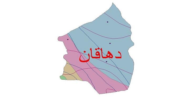 دانلود شیپ فایل اقلیمی شهرستان دهاقان
