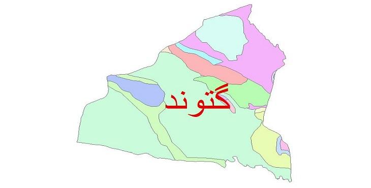 دانلود نقشه شیپ فایل زمین شناسی شهرستان گتوند