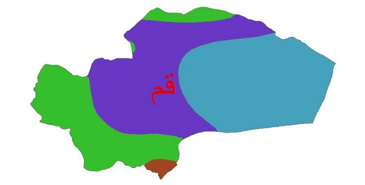 دانلود شیپ فایل اقلیمی استان قم