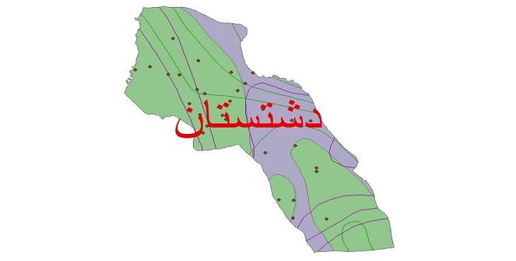 دانلود شیپ فایل اقلیمی شهرستان دشتستان