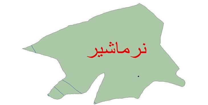 دانلود شیپ فایل اقلیمی شهرستان نرماشیر