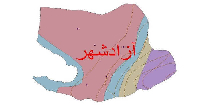 دانلود شیپ فایل اقلیمی شهرستان آذرشهر