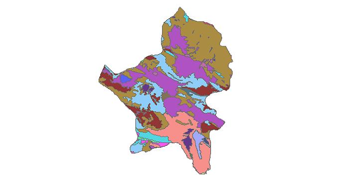شیپ فایل کاربری اراضی شهرستان بروجن