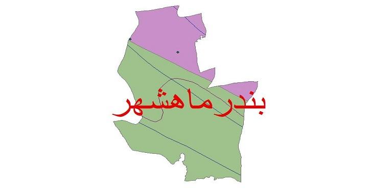 دانلود شیپ فایل اقلیمی شهرستان بندر ماهشهر