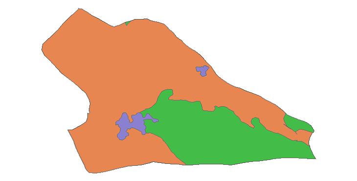 شیپ فایل کاربری اراضی شهرستان پیشوا