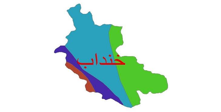 دانلود شیپ فایل اقلیمی شهرستان خنداب