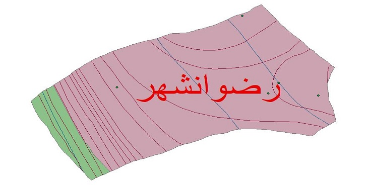 دانلود شیپ فایل اقلیمی شهرستان رضوانشهر