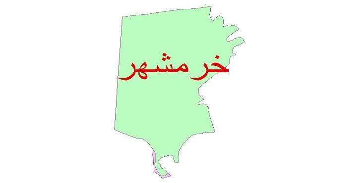 دانلود نقشه شیپ فایل زمین شناسی شهرستان خرمشهر