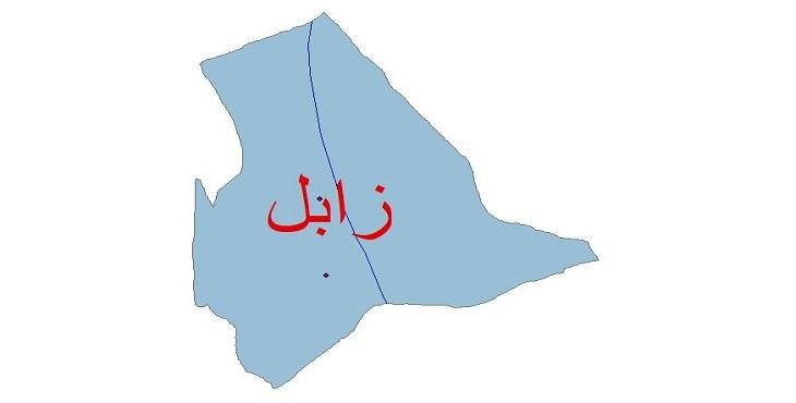 دانلود شیپ فایل اقلیمی شهرستان زابل