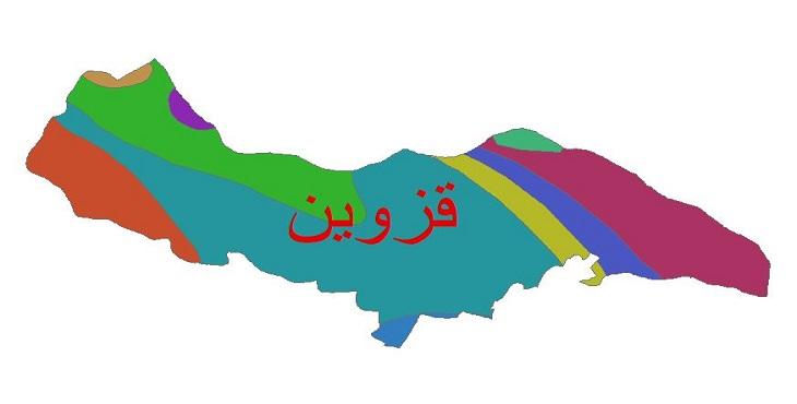 دانلود شیپ فایل اقلیمی شهرستان قزوین