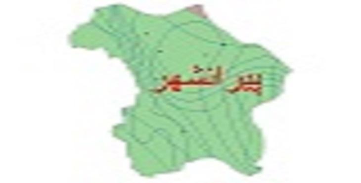 دانلود شیپ فایل اقلیمی شهرستان پیرانشهر