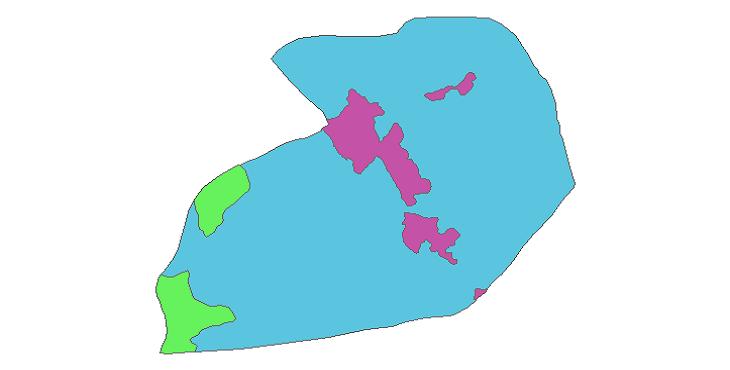 شیپ فایل کاربری اراضی شهرستان قرچک