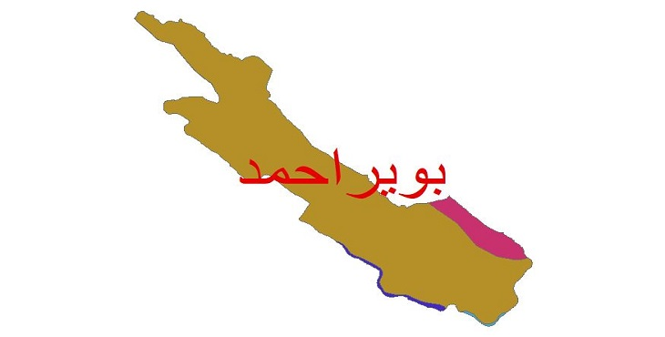 دانلود شیپ فایل اقلیمی شهرستان بویراحمد
