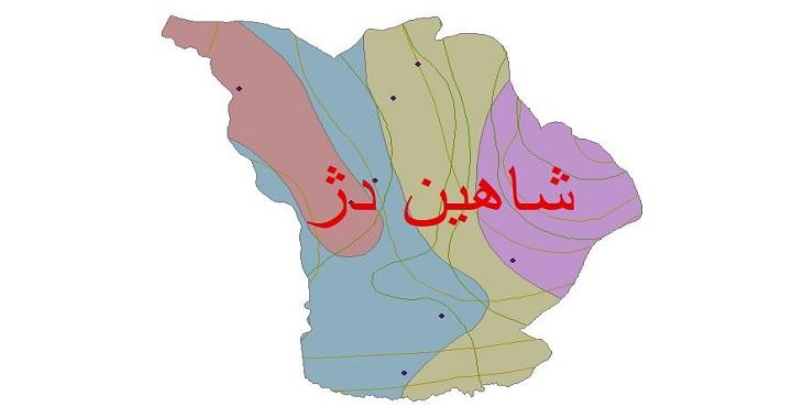 دانلود شیپ فایل اقلیمی شهرستان شاهین دژ