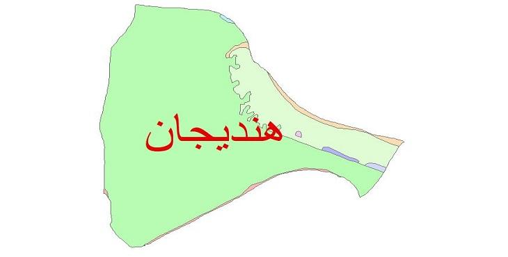 دانلود نقشه شیپ فایل زمین شناسی شهرستان هندیجان