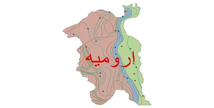 دانلود شیپ فایل اقلیمی شهرستان ارومیه