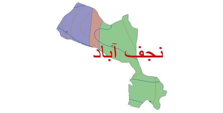 دانلود شیپ فایل اقلیمی شهرستان نجف آباد