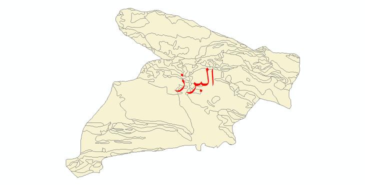 دانلود نقشه شیپ فایل زمینشناسی استان البرز