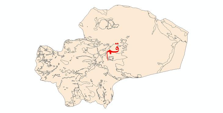 دانلود نقشه شیپ فایل کاربری اراضی استان قم