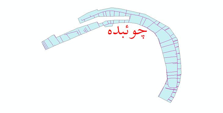 دانلود نقشه شیپ فایل شبکه معابر شهر چوئبده سال 1399