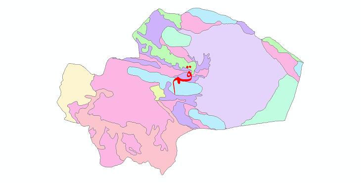 دانلود نقشه شیپ فایل خاک استان قم