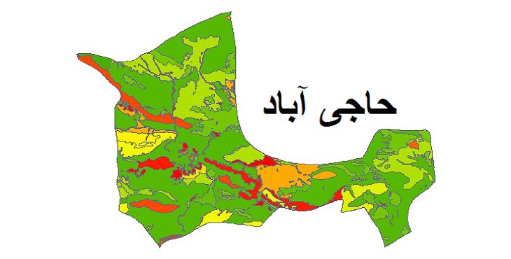 شیپ فایل کاربری اراضی شهرستان حاجی آباد