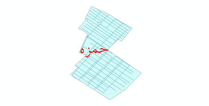 دانلود نقشه شیپ فایل شبکه معابر شهر حمزه سال 1399