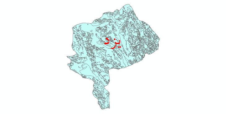 دانلود نقشه شیپ فایل زمینشناسی استان یزد