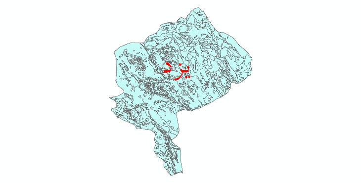 دانلود نقشه شیپ فایل کاربری اراضی استان یزد