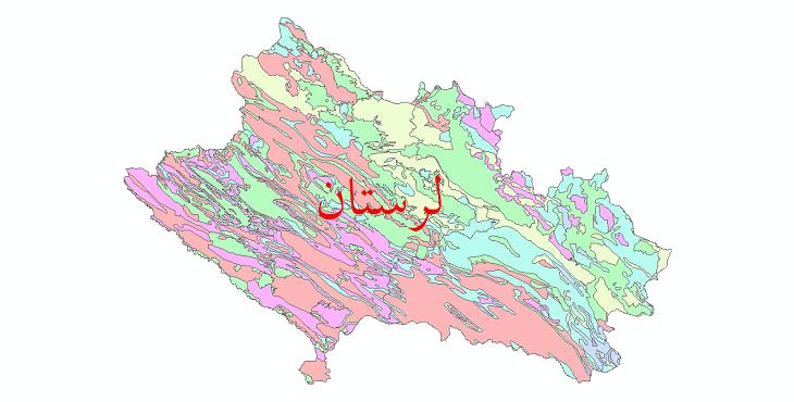 دانلود نقشه شیپ فایل فرسایش استان لرستان