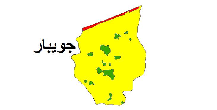 شیپ فایل کاربری اراضی شهرستان جویبار