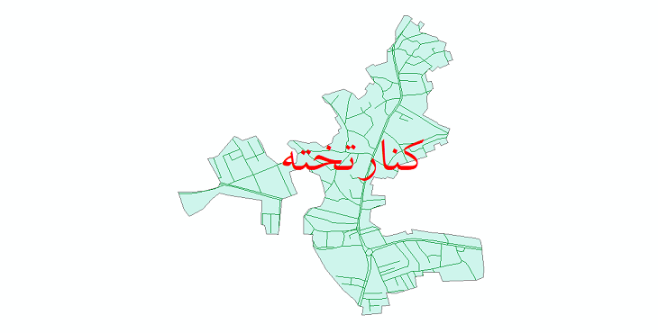 دانلود نقشه شیپ فایل شبکه معابر شهر کنارتخته سال 1399