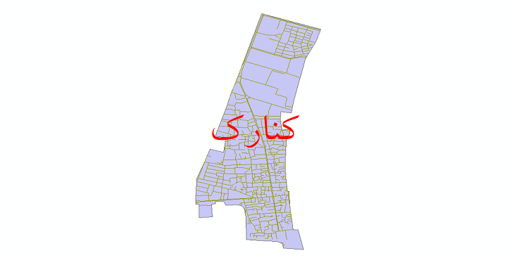 دانلود نقشه شیپ فایل شبکه معابر شهر کنارک سال 1399